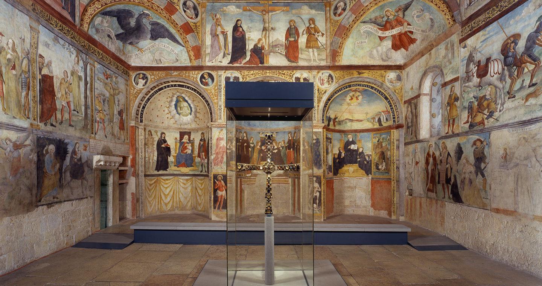 Chiesa di Santa Maria in Solario - Primo piano