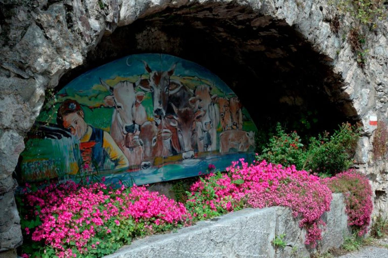 fontana dipinta