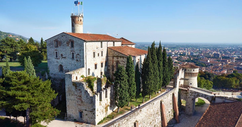Veduta del Castello di Brescia, Mastio Visconteo XIV – XVI secolo