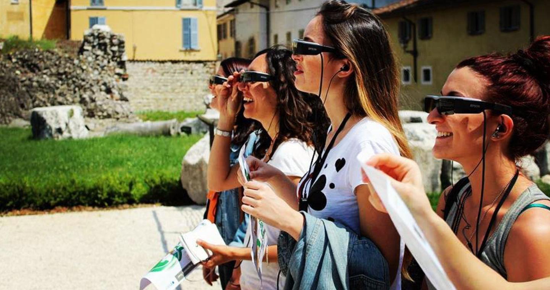 Ricostruzione virtuale del centro della città romana