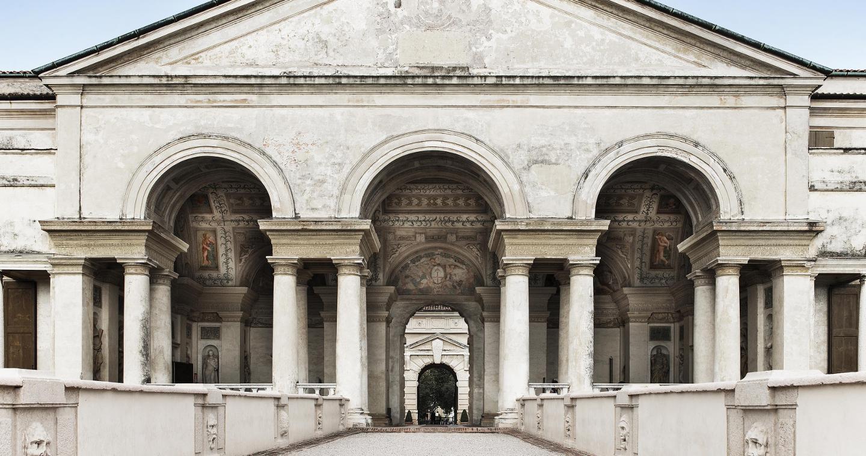 La loggia di Davide di Palazzo Te a Mantova.