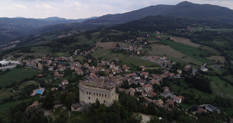 Vista di Zavattarello (PV)