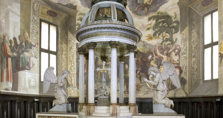 Altare maggiore di Leopoldo Pollack