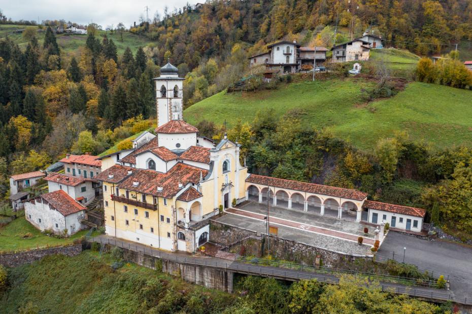 Bovegno (BS) - Santuario Madonna Misericordia