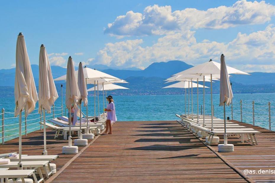 Lago di Garda per giornate al sole e freschi bagni in acqua