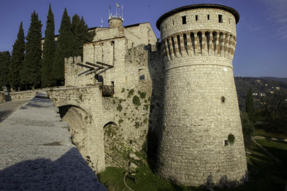 Das Panorama am Schloss