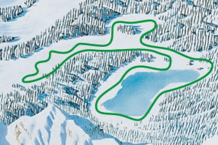 cartina pista fondo Lago Palù