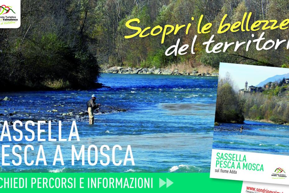 """Fiume Adda: la zona di pesca a mosca della """"Sassella"""""""