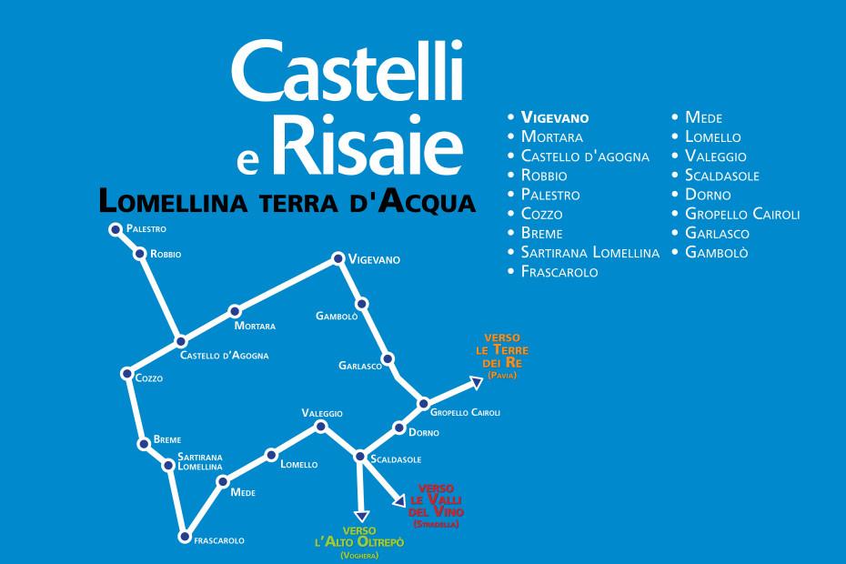 Itineraio Castelli e Risaie in Lomellina