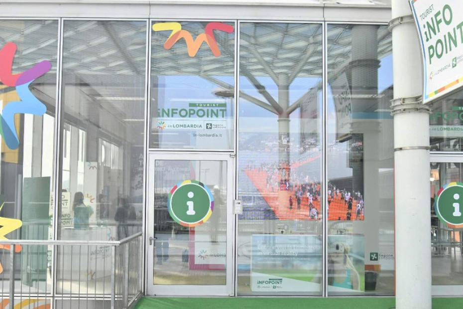 Infopoint Fiera Milano Rho, to discover and experience Lombardy