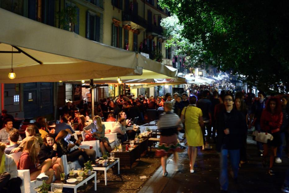 Vivere i quartieri della night life milanese