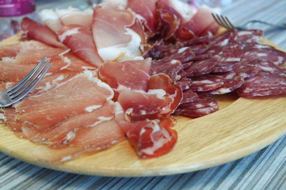 Monte Isola Salami at the heart of the Sebino