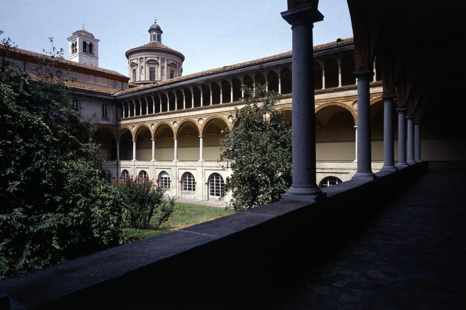 Chiostri del monastero olivetano