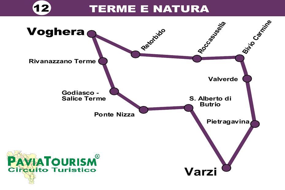 ...Se abbiamo con noi la bicicletta la potremo usare per una bella passeggiata da Voghera a Salice Terme lungo la pista ciclopedonale realizzata sulla sede dell'antica ferrovia elettrica Voghera – Varzi. La realizzazione della pista sta proseguendo verso Varzi.