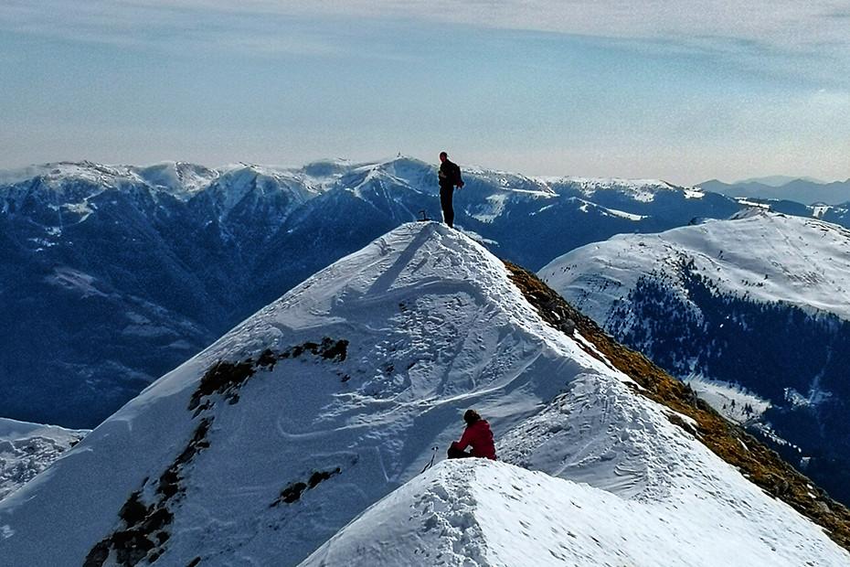 Mountaineering at Pizzo Corzene