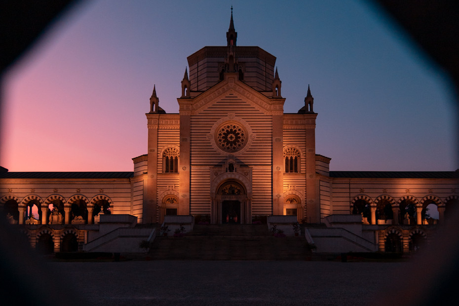 The beauty and silence of the Monumental Cemetery