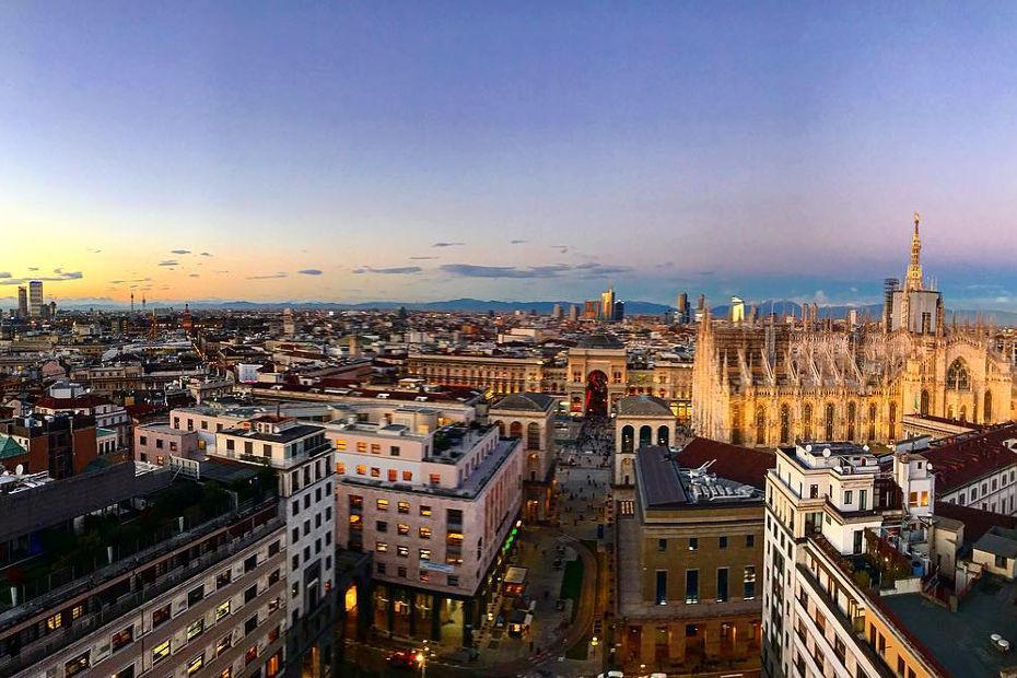 1. Le terrazze panoramiche (Milano)