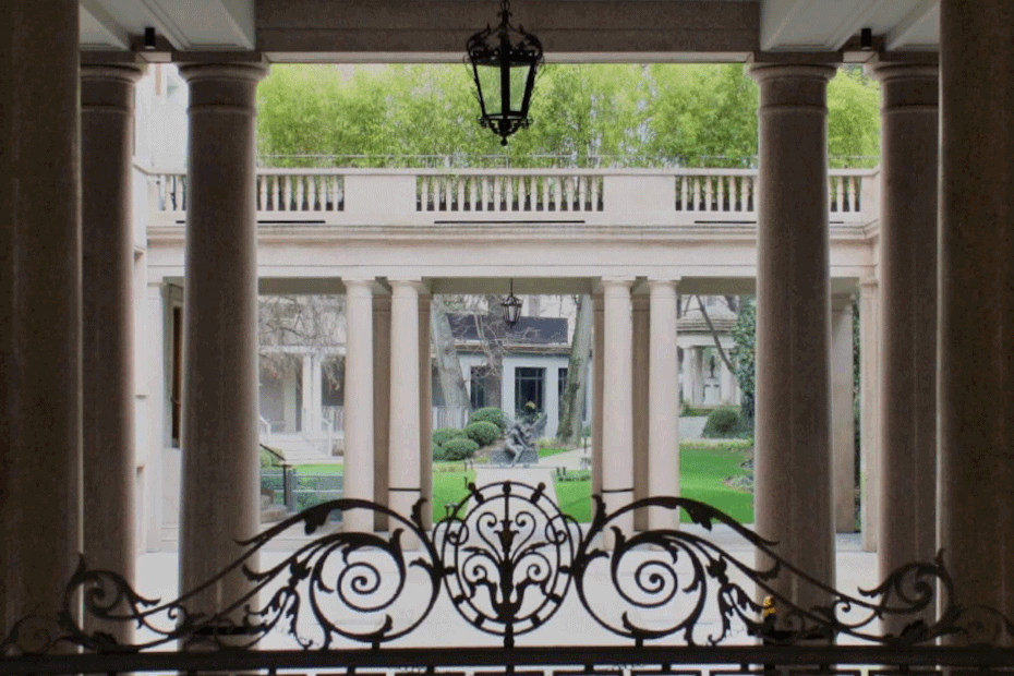2. Giardino della Biblioteca di Via Senato