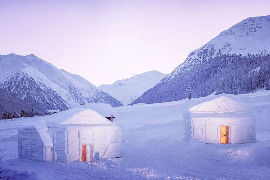 3. Dormire in un igloo (Livigno, SO)