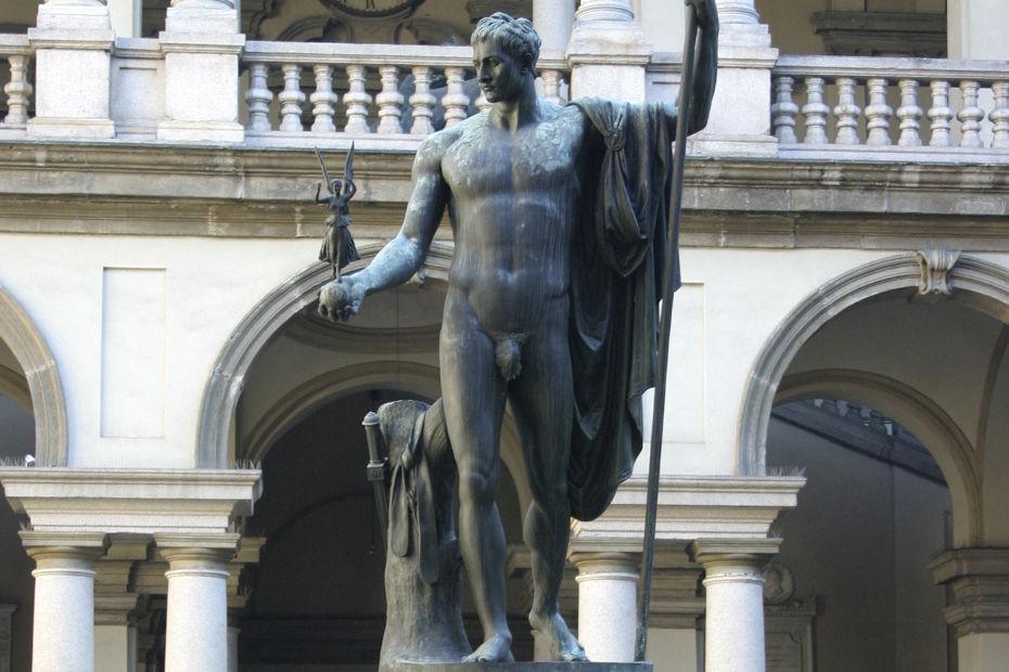 Napoleone Bonaparte come Marte pacificatore (Milano)