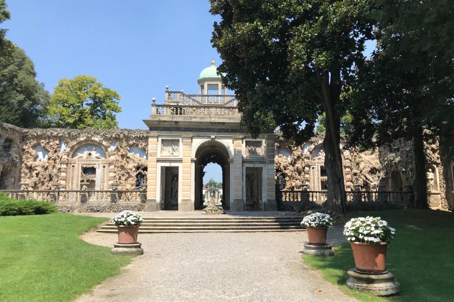Ninfeo di Villa Visconti Borromeo Litta, Lainate (MI)