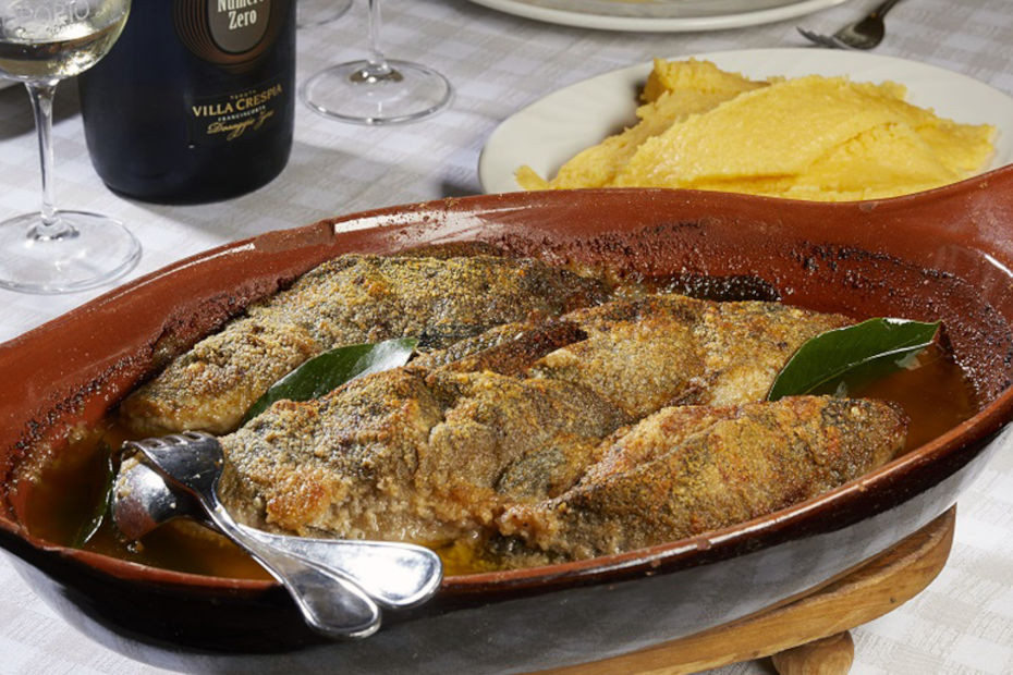 1. Baked tench in Clusane