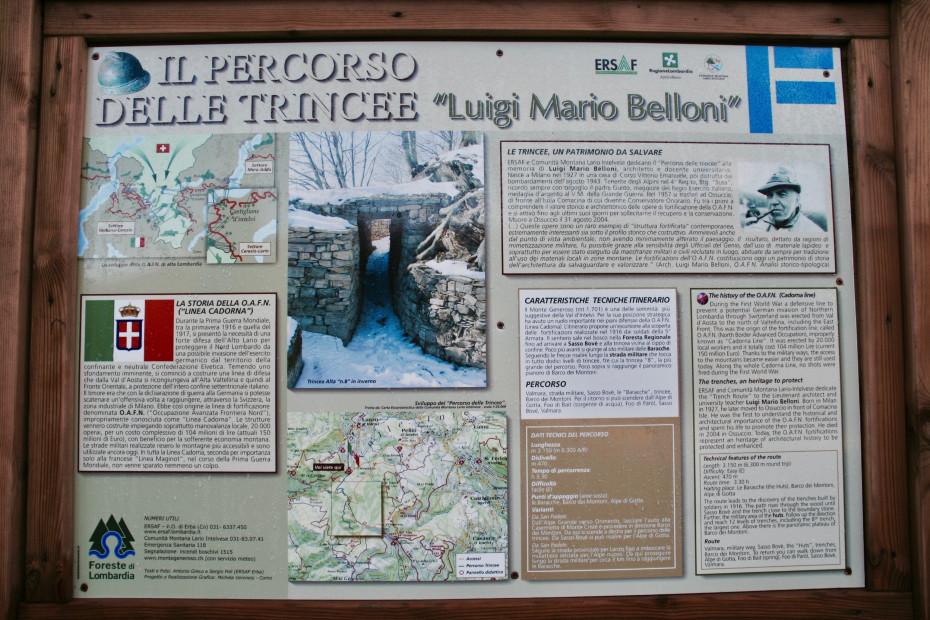 Le trincee del Monte Generoso e il faggio monumentale (CO) - 05/07/2020 - EVENTO SCADUTO