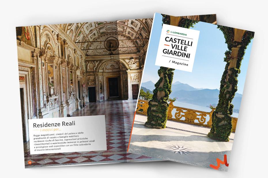 Magazine Castelli, Ville e Giardini