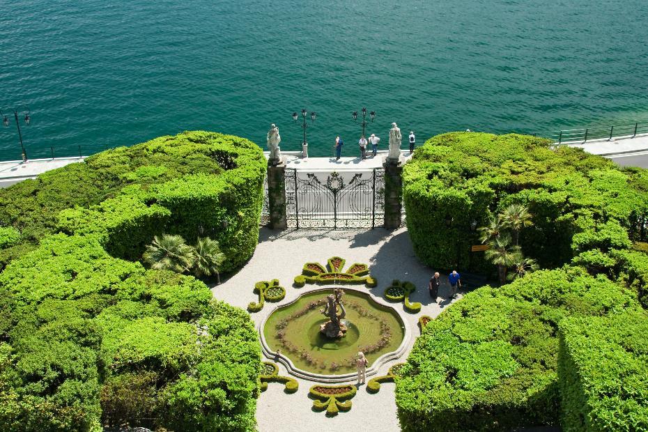 10. Sus jardines son los más hermosos