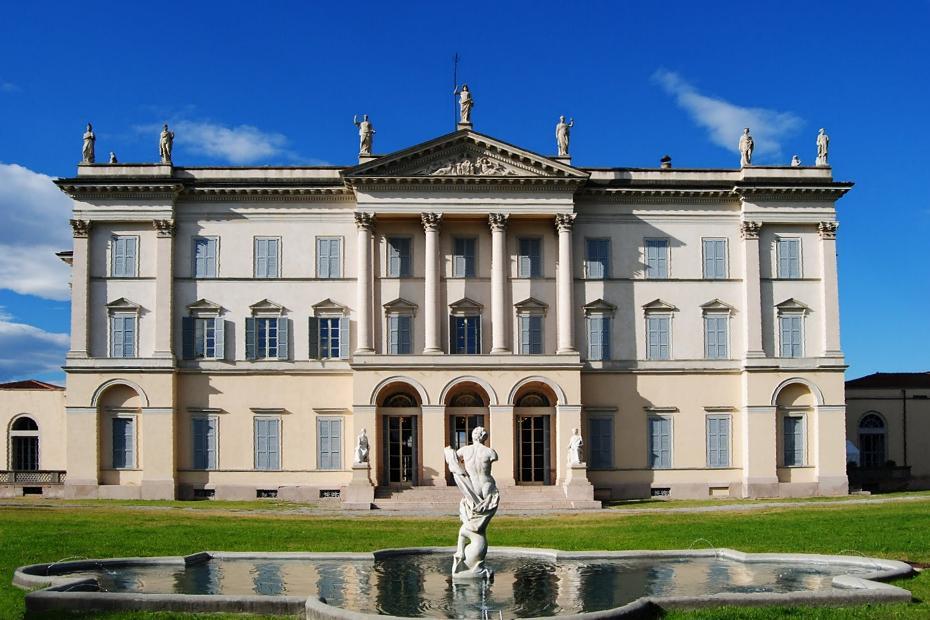 10. Una de sus mansiones es un Parque de las Culturas