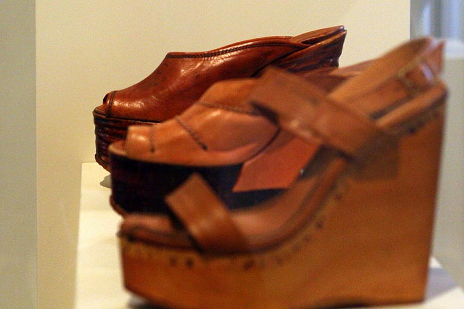4. Des chaussures dignes d'un musée