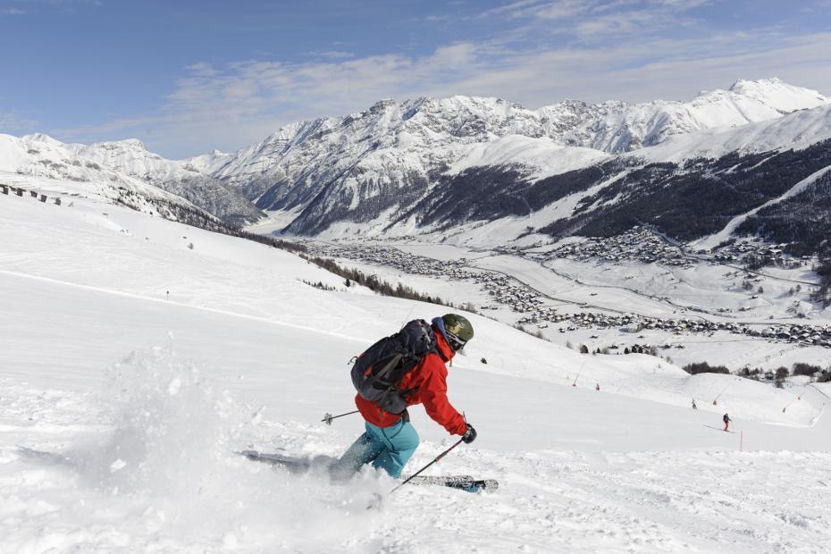 1. Nella Skiarea, in famiglia