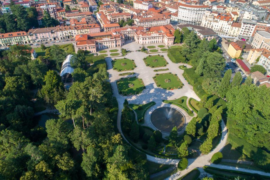 2. È la città giardino per eccellenza