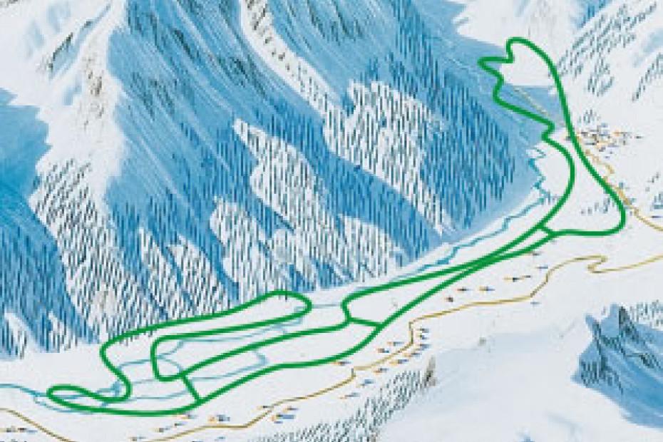 cartina pista fondo San Giuseppe
