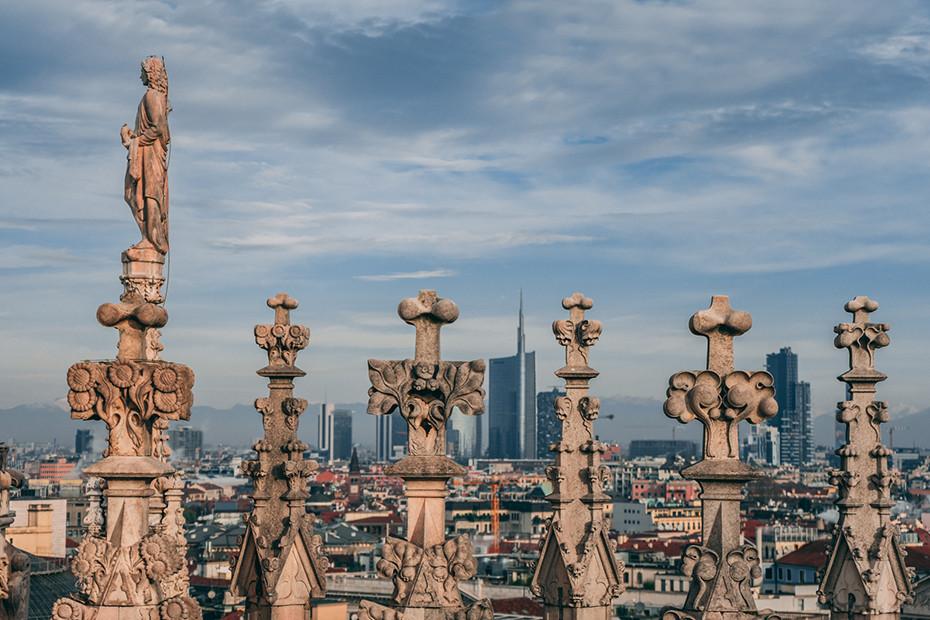 Milan's new skyline