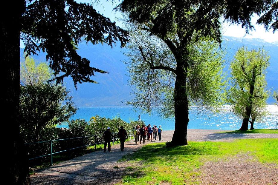 The Sentiero del Sole in Limone