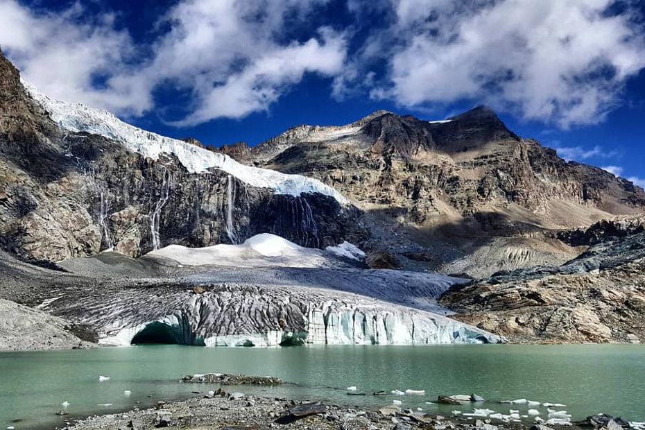 Fellaria Glacier