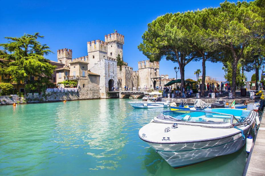 Lago di Garda, tra castelli e vestigia