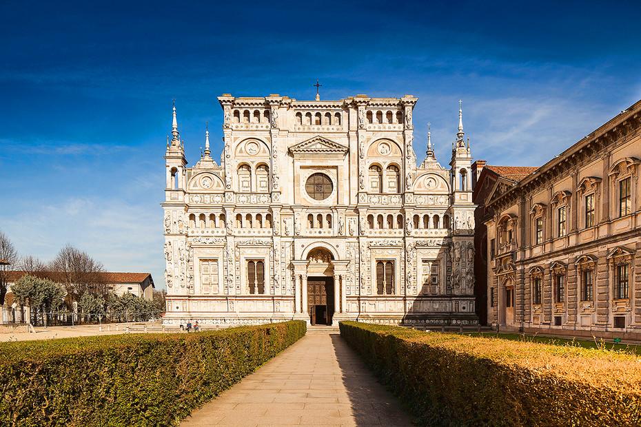 In visita alla Certosa di Pavia