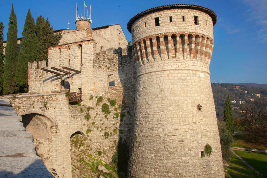 Dall'alto del Castello di Brescia