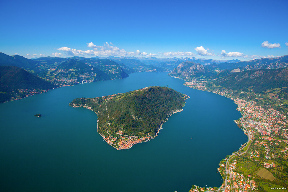 Monte Isola sul Lago d'Iseo