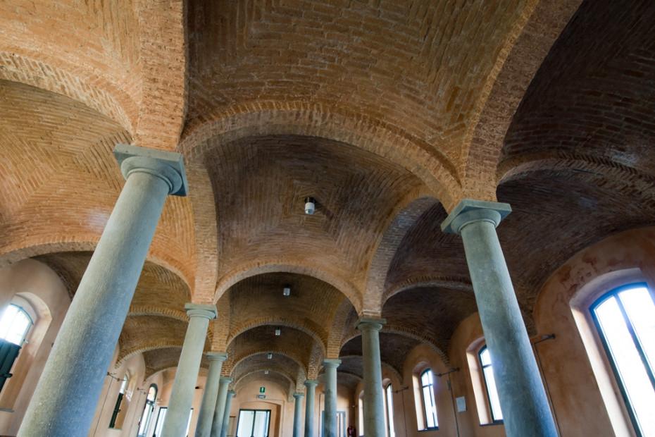 La sala delle colonne - Foto di Walter Turcato