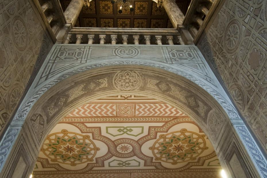 Dettaglio delle decorazioni - Foto W. Turcato