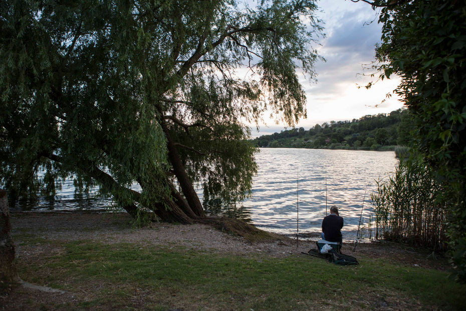 Lake Pusiano and Fishing