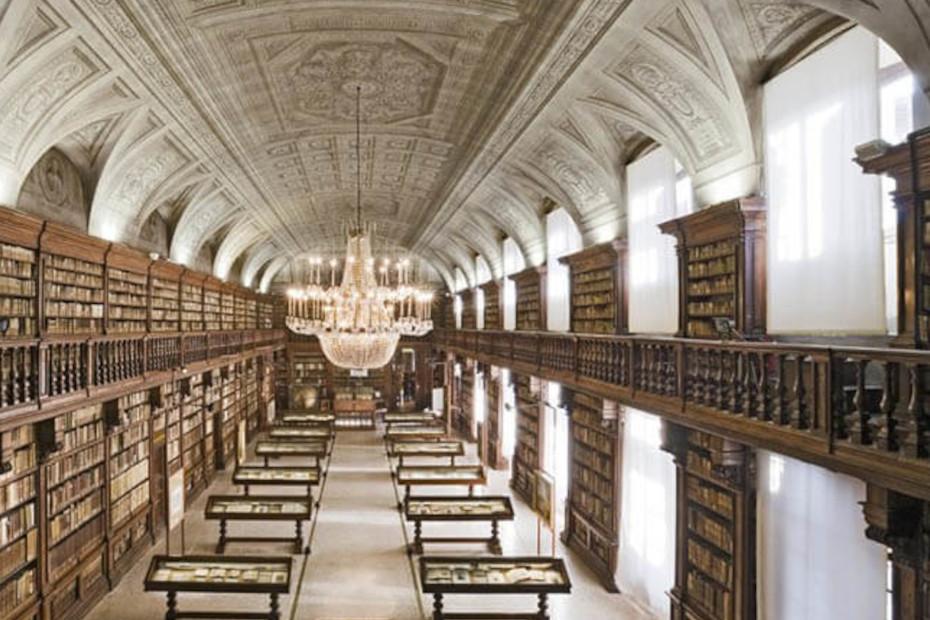 Biblioteca delle Belle Arti </br>via Brera, 28, Milano