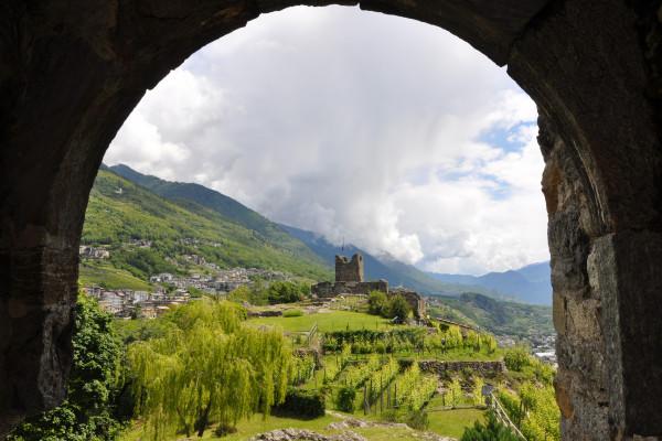 Castel Grumello, Montagna in Valtellina