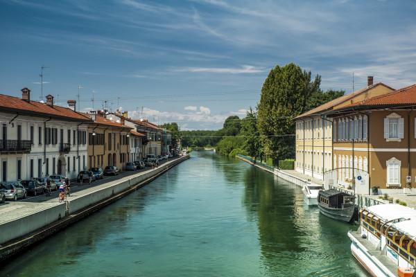 Parco del Ticino, Naviglio Grande