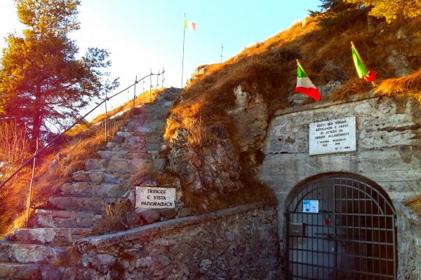 Alta via dei Forti seconda tappa