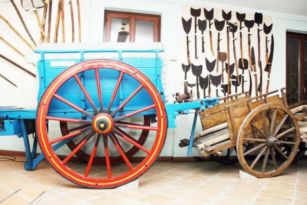 Carro agricolo de Museo della Civilta Contadina Cioca e Berloca