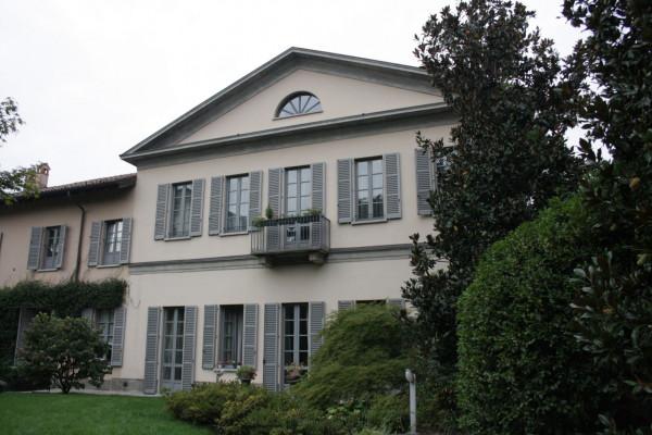 Vista frontale di Villa Medici Vidiserti